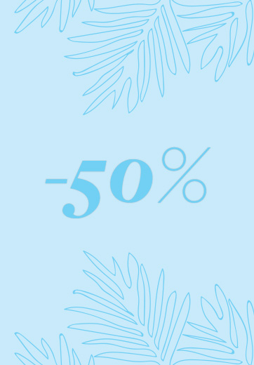 descuento del -50%
