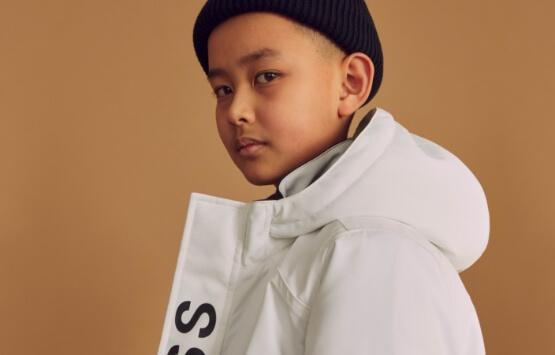 manteau boss enfant