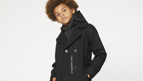 manteau karl lagerfeld enfant
