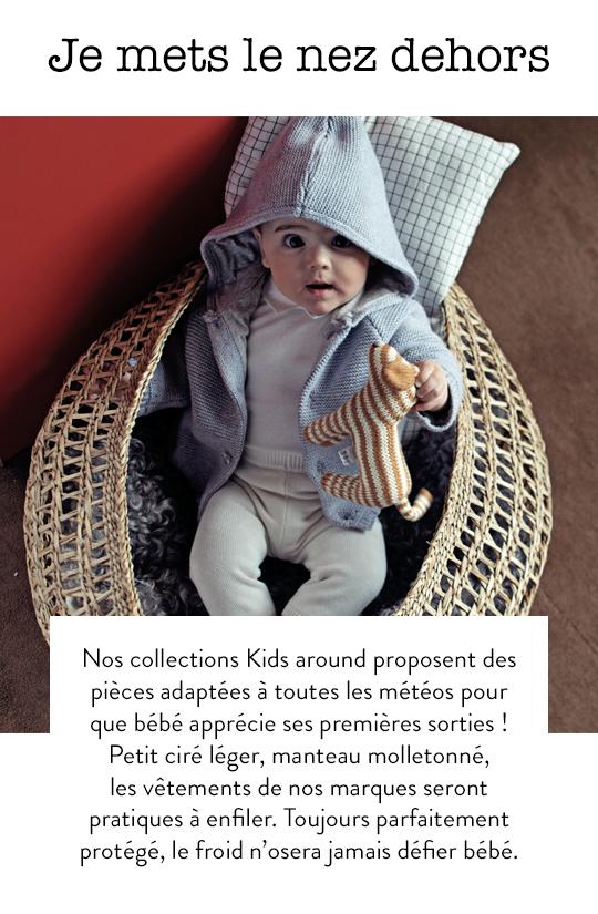 Vêtements bébé contre le froid