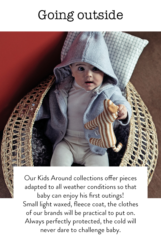 Baby outfits against cold