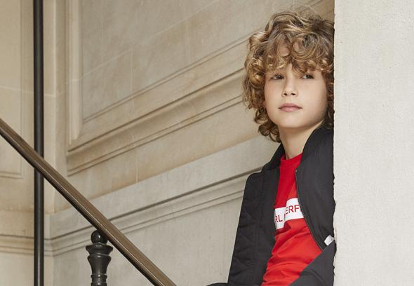 Kar Lagerfeld Kids Boy