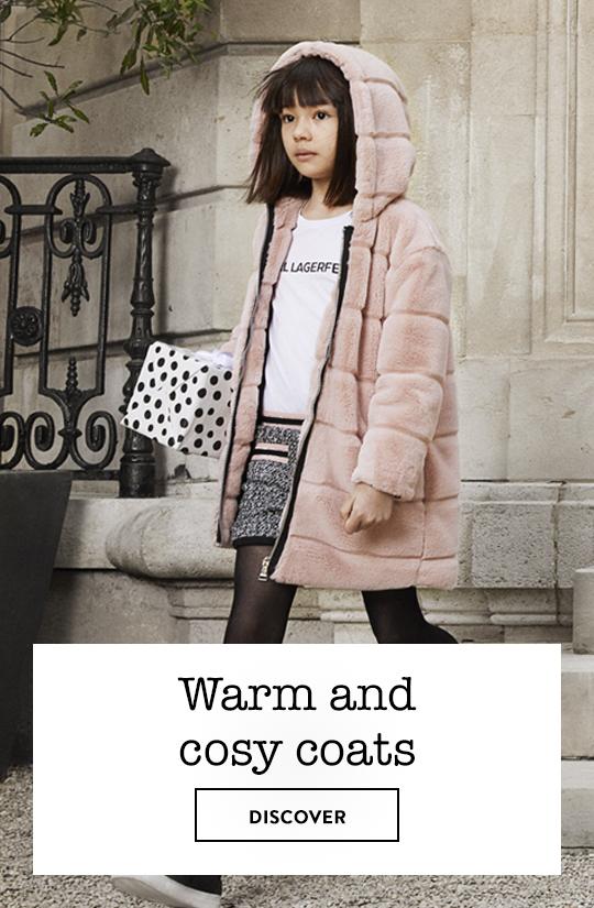 Karl Lagerfeld Kids Coats