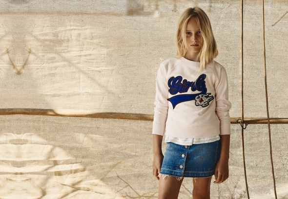 Zadig & Voltaire Kids clothes for girls