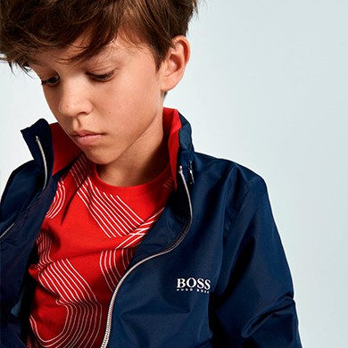 Discover our selection of BOSS children's clothes